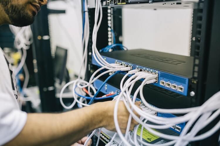 infrastructure for wordpress servers