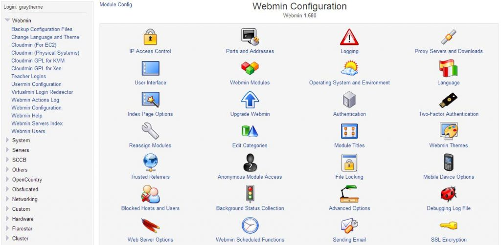 best control panel for vps - control panel vps webmin