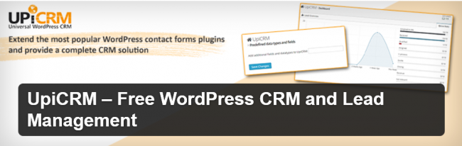 UpiCRM – Free Lead Management and WordPress CRM solution + GDPR Compliance