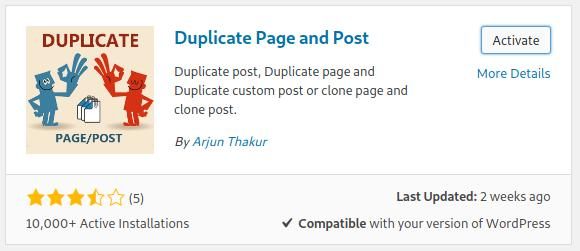 How to Duplicate WordPress Post / Page Website with Duplicate Page and Post Plugin