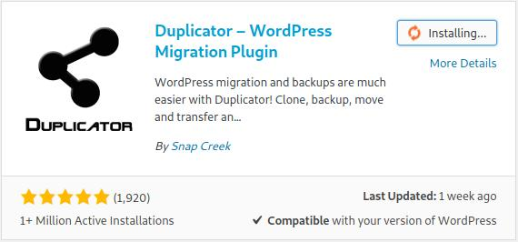 How to Use Duplicator to Duplicate a WordPress Website