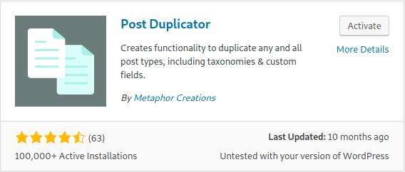 How to Duplicate WordPress Post Websites and Pages with Post Duplicator