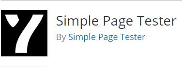 Mandatory WordPress Plugins and Tools - Simple Page Tester
