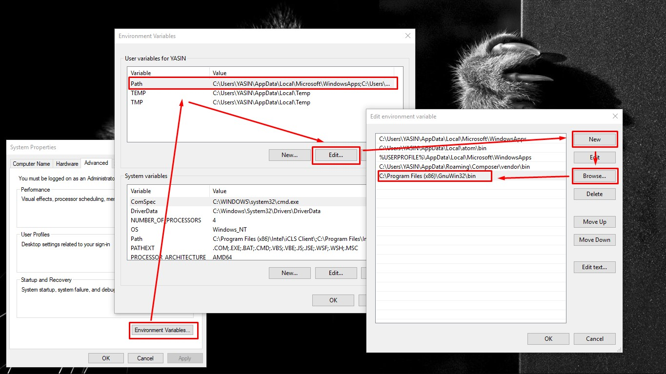 example of using wget command - wget windows configuration
