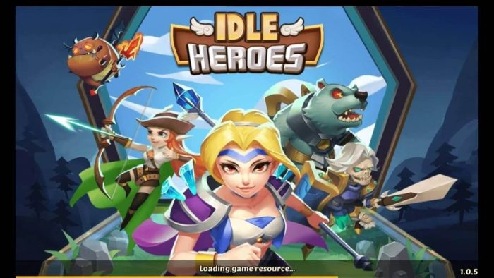 Experience playing Idle Heroes