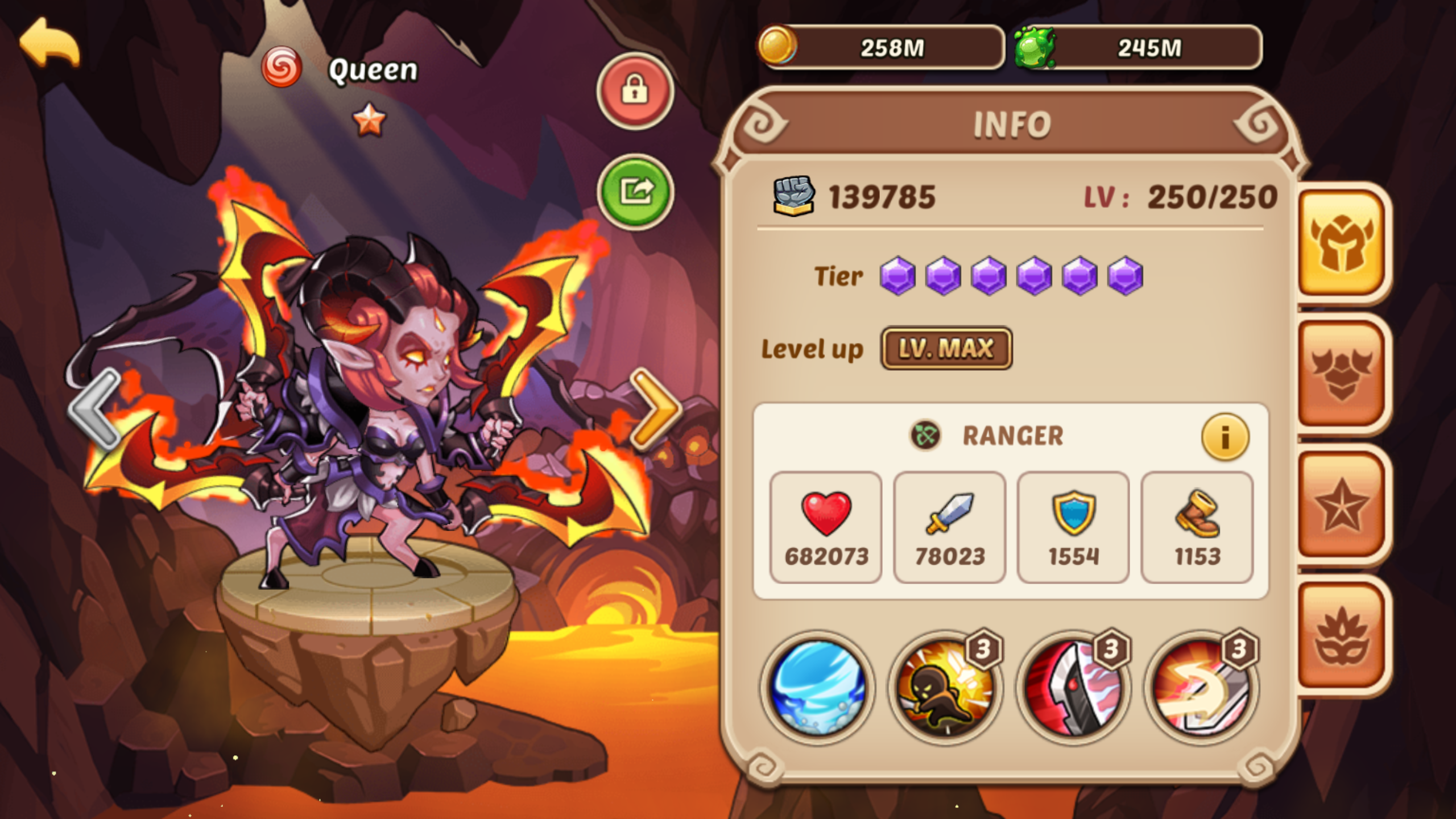 Hundreds of strategies in Idle Heroes