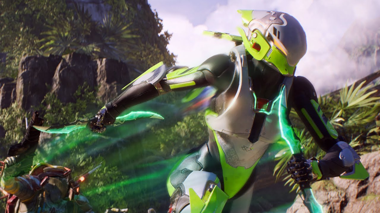How to change javelin colors in Anthem