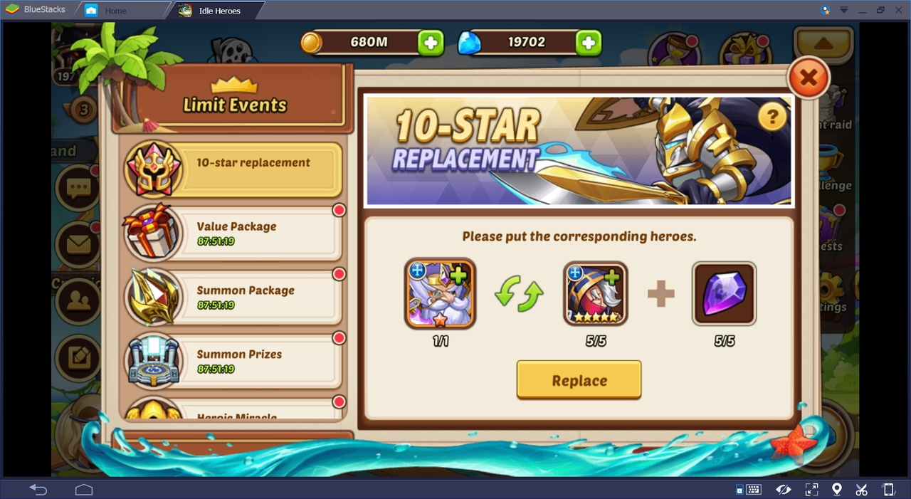 Idle Heroes How To Get 10 Star