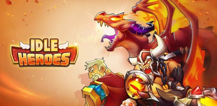 playing Idle Heroes - monsters