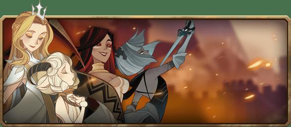 AFK Arena faction: Shemira, Intelligence, Graveborn, Solo Carry, Mage, Ascended. B, Numisu, Intelligence, Maulers, Support (Heal, Buffer), Mage, Mythic+. B