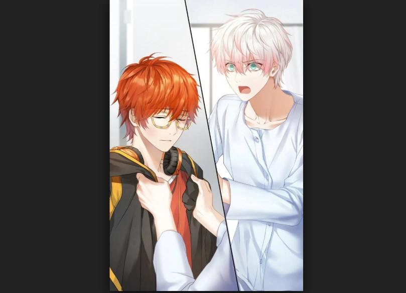 Unknown route in Mystic Messenger