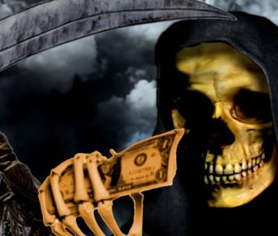 What it means to dream of the Black Santa Muerte