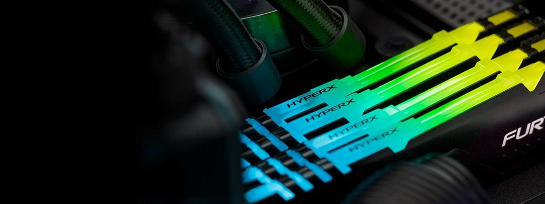 How to customize RGB lighting of HyperX's FURY and Predator memories