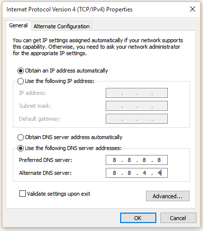 DNS_PROBE_FINISHED_NXDOMAIN step 5