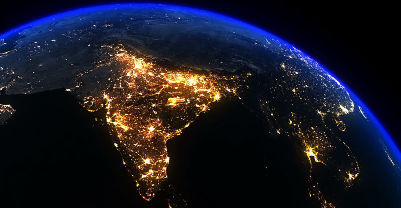 Geographical boundaries of India