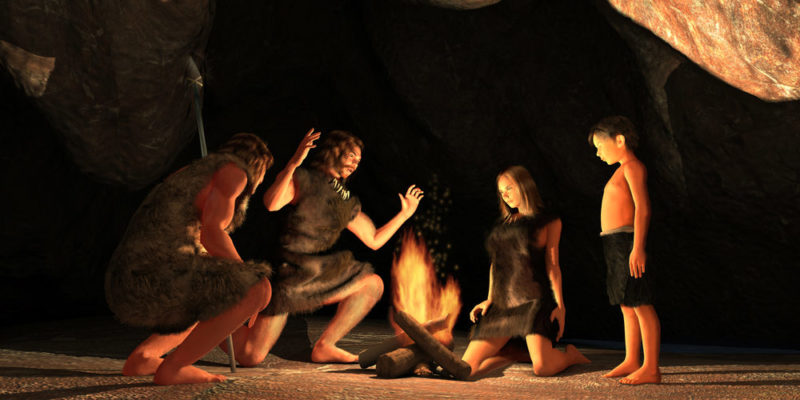 Social development in the Paleolithic